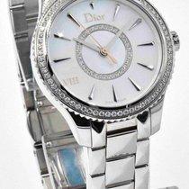 Dior VII Montaigne Watch Diamond Bezel & Mother of Pearl...