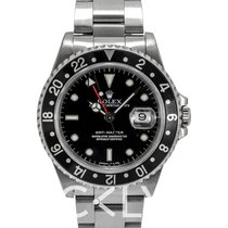 Ρολεξ (Rolex) GMT-Master Black/Steel 40mm - 16700