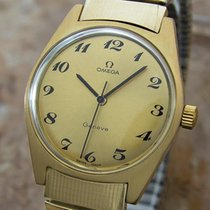 Omega Geneve  Swiss Made Calibre 601 Mens Gold Plated 1970s...