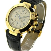 Cartier pasha38ygchonr Pasha Chrono in Yellow Gold - Old Style...