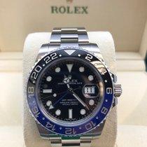 """Rolex GMT Master II """"Batman"""" Stainless Steel 116710"""