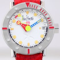 Alain Silberstein GMT Marine white Dial Limited Edition Date...
