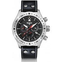 Traser H3 Aviator Jungmann Watch mit Lederarmband T5302.753.4P.11