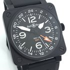 Bell & Ross BR01 GMT BLACK SCHWARZ 46mm NEU LAGERND LC100