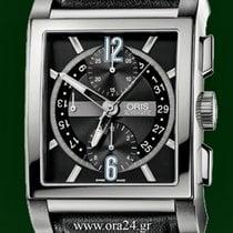 Oris Rectangular Titan 43mm Automatic Chronograph Open Back