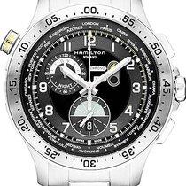 Hamilton Khaki Worldtimer chrono quartz H76714135 Sportliche...