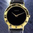 Gucci 3000.2m Gold Plated Luxury Quartz Watch 90's Scx33
