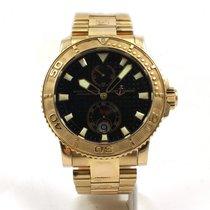 Ulysse Nardin Men's 18K Rose Gold Ulysse Nardin Chronomete...