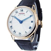 De Bethune DB25RS1 DB 25 - Rose Gold on Leather Strap with...