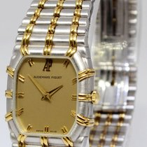 Audemars Piguet Ladies Bamboo 18k White & Yellow Gold...