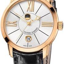 Ulysse Nardin Classico Luna Automatic 18kt Rose Gold Mens...