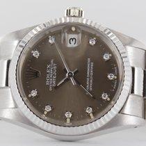 Rolex Datejust Weissgold Diamond Full Set LC 100
