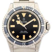 Tudor Snowflake Sub 94010 Black 1980