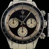 Rolex Paul Newman 6240 Daytona Black Dial Steel