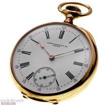 Patek Philippe Vintage Lepine Pocket Watch 18k Rose Gold Bj-1900