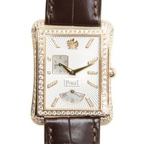 Piaget 非凡珍品系列 18 K Rose Gold With Diamonds Silver Automatic...
