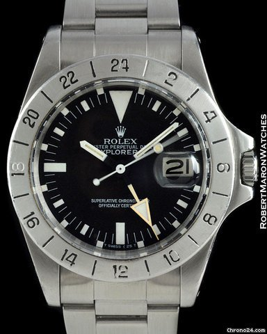 Rolex Explorer II Steve Mcqueen
