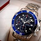 Omega Seamaster Professional Chronograph Blue Dial SS / SS