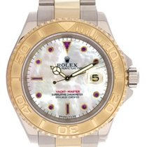 Rolex Men's Rolex Yacht-Master Watch 16623 Mother-Of-Pearl...