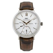 IWC Portofino Hand Wound Eight Days Silver Dial