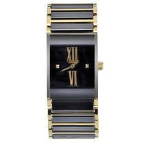 Rado Integral Jubilee Black Dial Ceramic Ladies Watch