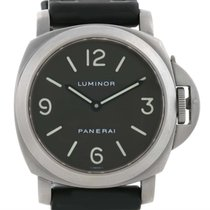 Panerai Luminor Base 44mm Titanium Watch Pam055 Pam00055