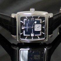 Ulysse Nardin Quadrato Dual Steel Black dial