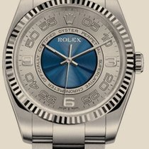 Rolex Oyster Perpetual Oyster Perpetual 36 mm Steel and White...