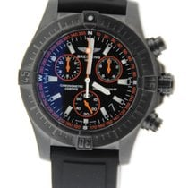 Breitling Avenger Seawolf Black Orange Blacksteel