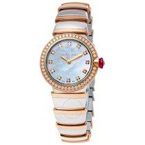 Bulgari Lvcea Ladies 18 Carat Rose Gold Watch
