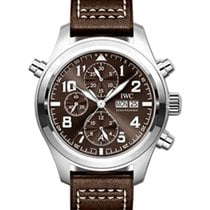 IWC Schaffhausen IW371808 Pilot's Watch Double Chronograph...
