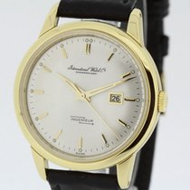 IWC Ingenieur from 1957 Ref 666 solid 18K Gold Watch SERVICED...