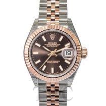 Rolex Lady Datejust 28 Chocolate 18k Everose gold/Steel 28mm -...