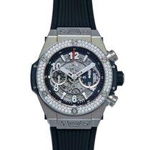 Hublot Big Bang 45 mm Unico Titanium Diamonds Men`s Watch