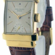 Patek Philippe Vintage 1450 18K Yellow Gold Top Hat Mens Watch...