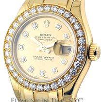 Rolex Datejust Masterpiece 18k YG Diamond Dial & Bezel...