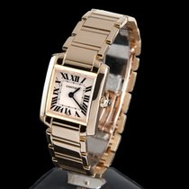 Cartier tank francaise yellow gold lady