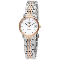 Longines Elegant Automatic White Dial Ladies Watch
