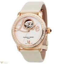 Frederique Constant Steel Diamonds Ladies Watch