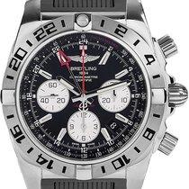 Breitling Men's AB0420B9/BB56/200S Chronomat 44 GMT