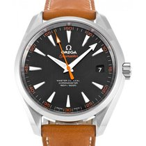 Omega Seamaster Aqua Terra 231.12.42.21.01.002 Black Orange...