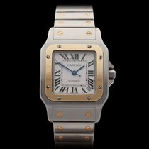 Cartier Santos Galbee XL Stainless Steel/18k Yellow Gold Gents...