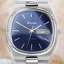 Bulova 6-261711 Vintage Rare  Stainless Steel Swiss Automatic...
