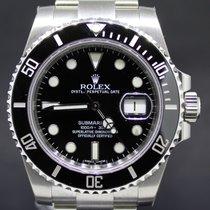Rolex Submariner Steel Date Black Dial, 40MM Full Set