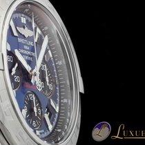 Breitling Chronomat 44 Edelstahl Blau/Schwarzes Zifferblatt  ...