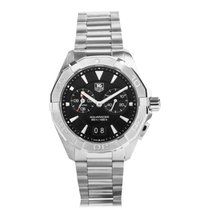 TAG Heuer Aquaracer Quarz Alarm 40,5mm black dial
