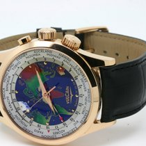 Vulcain The Cloisonne The World 18kt Rosegold