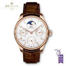 IWC Portuguese Perpetual Calendar Rose Gold - IW502306