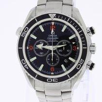 Omega Seamaster Planet Ocean Co-Axial Chronograph black NOS