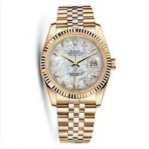 Rolex 116238 Oyster Perpetual Datejust Yellow Gold Ladies Watch